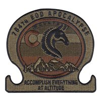 764 EOD Custom Patches
