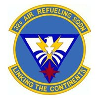 32d Air Refueling Squadron (32 ARS) Custom Patches