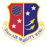 514th Air Mobility Wing (514 AMW) Custom Patches