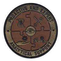 Air Force Maintenance Management Analysis (2R0X1)  Custom Patches