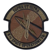 6 SOPS Customs Patches