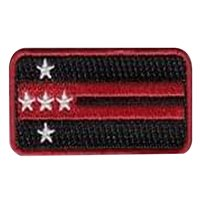 Custom Pencil Pocket Patches which are 100% embroidered with Velcro.