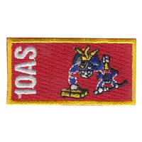 10 AS Custom Patches