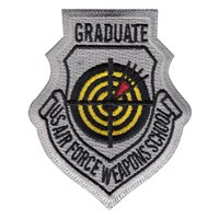 USAF Weapons School Graduate (USAFWS Graduate) Custom Patches