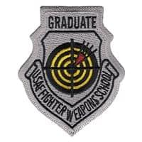 USAF Fighter Weapons School Graduate (USAFFWS Graduate) Custom Patches