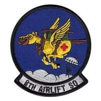 8 AS Patches