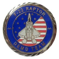 USAF Demo Teams Challenge Coins