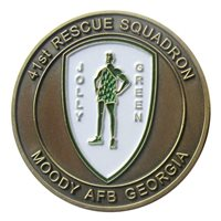 Moody AFB Challenge Coins