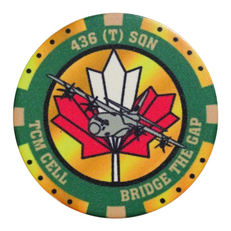 436T Poker Chip Front Image