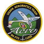 94 FTS Aerobatics Team 2015 Patch