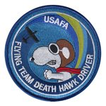 USAFA Flying Team Death Hawk Driver Patch