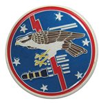 High quality 6 RS custom challenge coin designed by our coin experts.