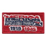 World War II Pencil  Custom Pencil Patches
