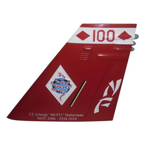 VFA-102 F/A-18E Super Hornet Custom Airplane Tail Flash