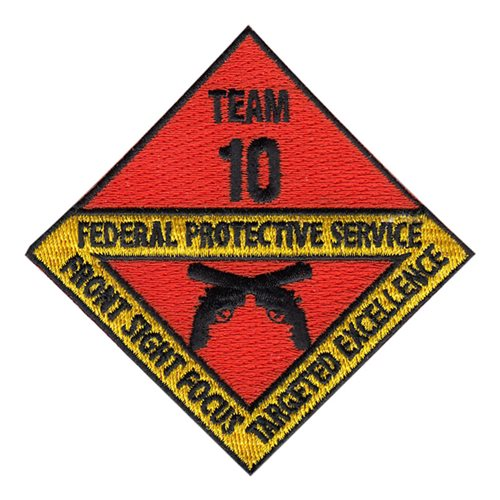 Federal Protective Service Team 10 Patch