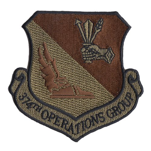374th Airlift Wing (374 AW) Custom Patches