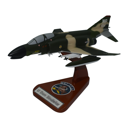 497 TFS F-4 Custom Airplane Model