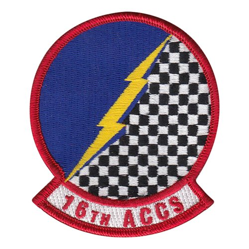 16 ACCS Heritage Patch