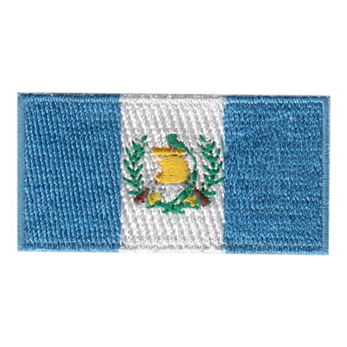 Guatemala Flag Pencil Patch