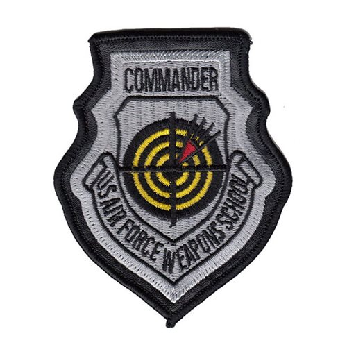 USAF Weapons School Commander Patch