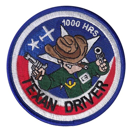 T-6A Texan Driver 1000 Hours Patch