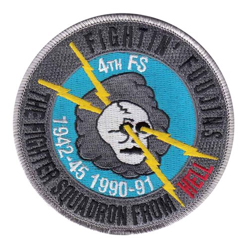 4 FS Friday Patch | 4th Fighter Squadron Patch
