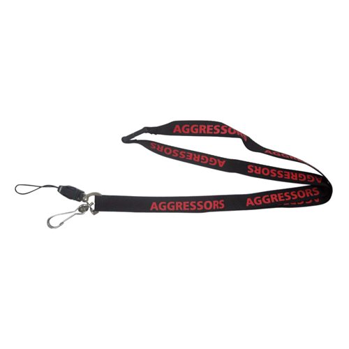 Custom Aggressors Lanyard