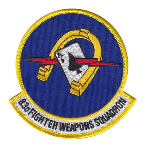 83 fws patch 83rd fighter weapons squadron patches
