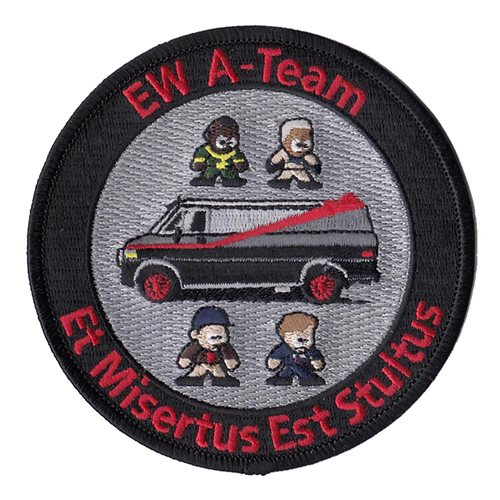 771 TS EW A-Team Patch