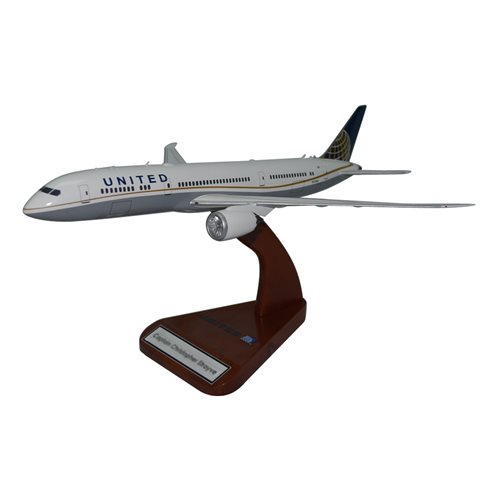 United Airlines Boeing 787-900 Custom Aircraft Model
