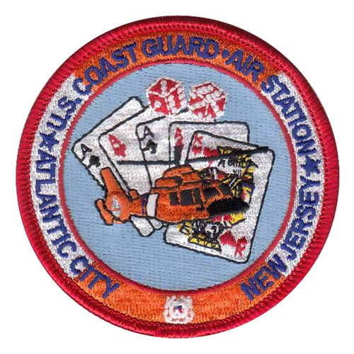 USCG Air Station Atlantic City Patch