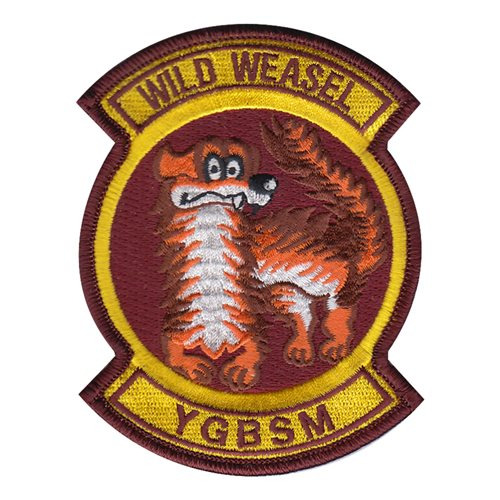 Wild Weasel YGBSM Patch