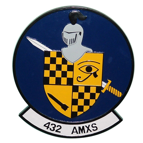 432 AMXS Custom Wall Plaque