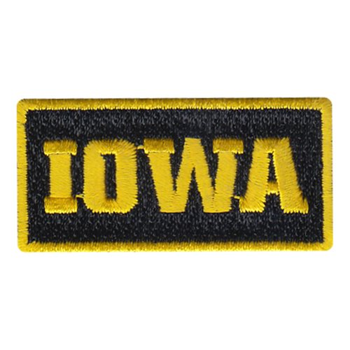 University of Iowa Pencil Patch