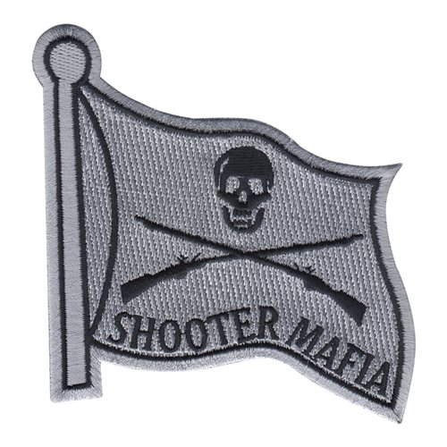 25 FTS Shooter Mafia Flag Patch