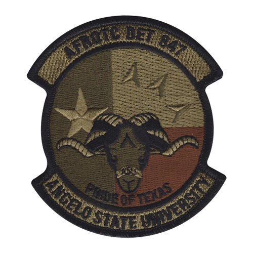 afrotc det 847 angelo state university ocp patch air force reserve