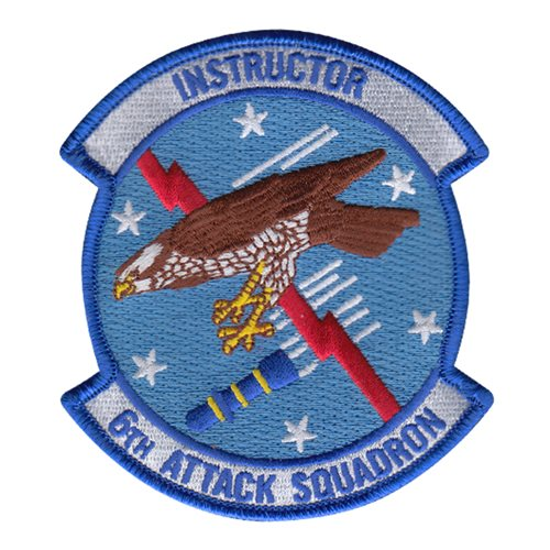 6 ATKS Instructor Patch