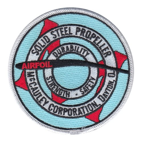 McCAULEY Solid Steel Propeller Patch