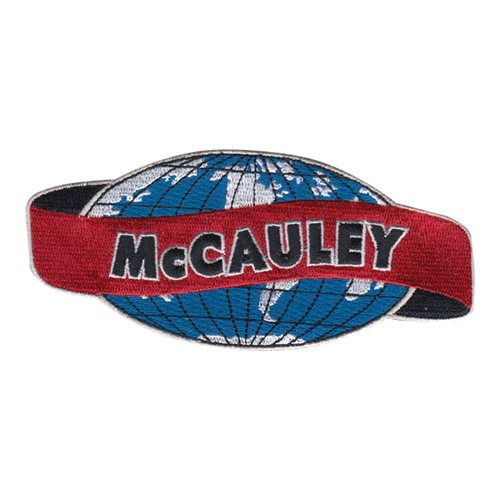 McCAULEY Globe Patch