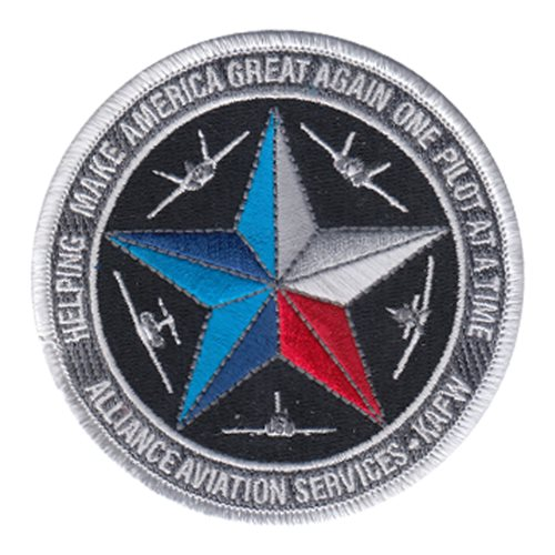 Alliance Aviation Services KAFW Patch