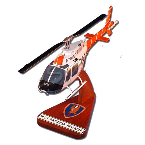 us army th 67 custom helicopter model custom th 67 creek wooden