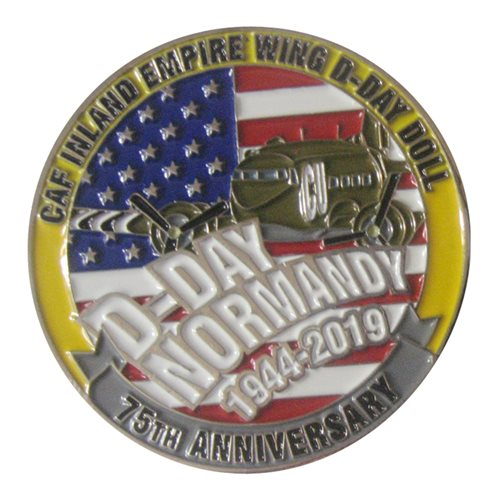 CAF Inland Empire Wing D-Day 2019 Coin