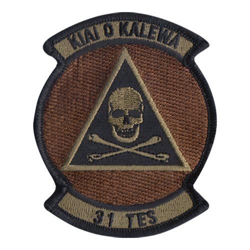STICKER USAF  31st TEST EVALUATION SQUADRON