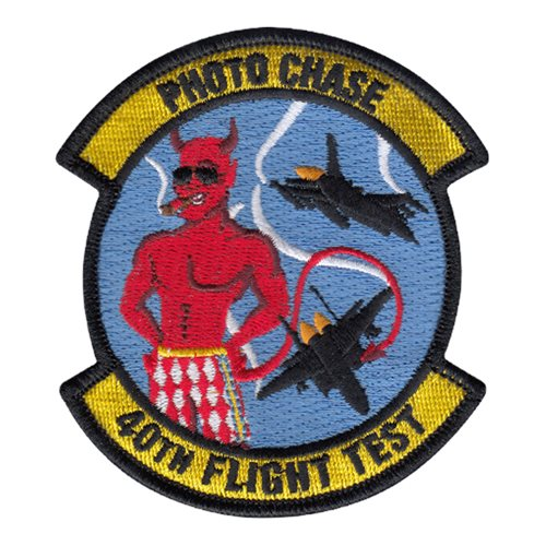 40 FLTS Photo Chase Patch