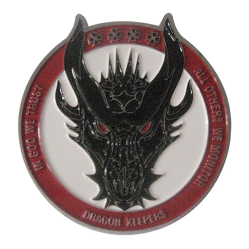 380 EAMXS Dragon Challenge Coin