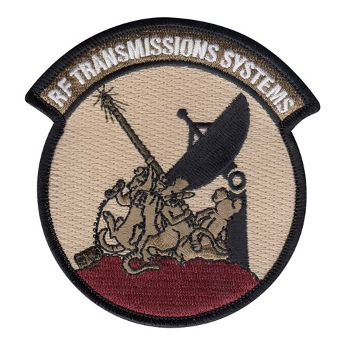 443 AES RF Transmission Systems Patch