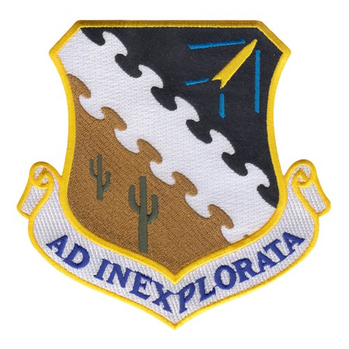 Air Force Test Center Patch 5 Inch