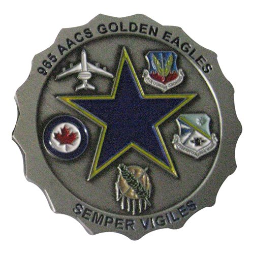 965 AACS Golden Eagles Challenge Coin