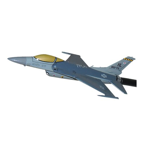 466 FS F-16C Custom Airplane Model Briefing Sticks