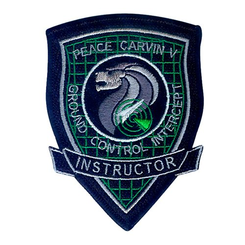 Peace Carvin V GCI Instructor Patch